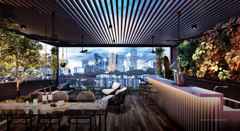 Club Lounge of The Iveria Condo